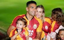 Falcao junto a su familia en Turquía.