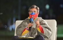 "La alcaldesa de Bogotá, Claudia López, dijo que ""no es xenofobia, es lógica""."