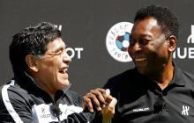 """""""Siempre te aplaudiré"""", dice Pelé en su mensaje de cumpleaños a Maradona"""