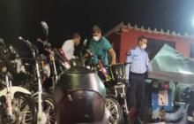En Santa Marta inmovilizan 50 motos en 'Caravana de Halloween'