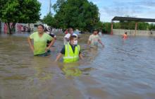 ¡Se desbordó el río Fundación!