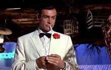 Sean Connery como James Bond en