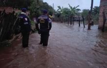 Creciente del Guatapurí deja más de 20 familias afectadas en Valledupar