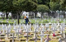 Cierres y controles en cementerios del Atlántico