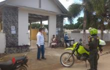 Policía de Montería controla ingreso a los cementerios