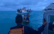 En video | Armada rescató ocho pescadores en San Andrés