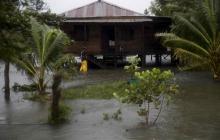 Tormenta Eta se degrada en depresión tropical al pasar a Honduras