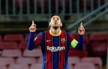 Lionel Messi marcó gol en el último duelo del FC Barcelona por Champions League.