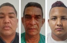 Enviaron a la cárcel a tres de la banda 'los Camperos'