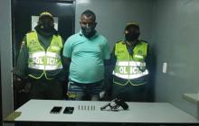 Henry Junior Chamié Barrios, capturado.