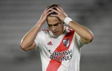 Rafael Santos Borré, delantero de River Plate.