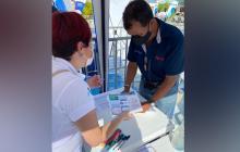 Air-e realizó jornada de atención integral en Palmar de Varela