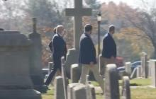 Presidente electo de EE.UU., Joe Biden, acude a misa tras su victoria