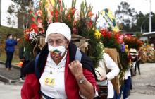 Desfile de Silleteros: Tradición que sobrevive a la Covid-19