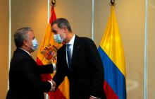 Iván Duque sostuvo reuniones bilaterales en su paso por Bolivia