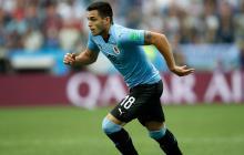 Maxi Gómez es la segunda baja de Uruguay para enfrentar a Colombia