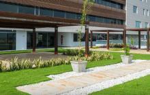 Edificio BC Empresarial, primer Centro Empresarial LEED GOLD en Barranquilla, construido por Metropoli S.A.
