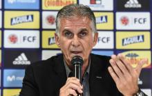 Carlos Queiroz, entrenador de la selección Colombia.