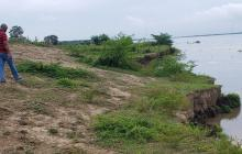 En video | Lanzan alerta por puntos críticos de erosión en El Piñón