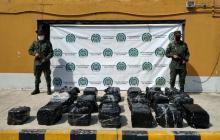 Policía incauta 784 kilos de cocaína en puertos de Barranquilla y Santa Marta