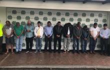 Red de narcotráfico del aeropuerto Ernesto Cortissoz de Barranquilla.
