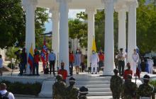 Vicepresidente de Colombia conmemoró bicentenario de la batalla de Ciénaga