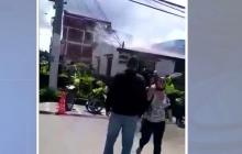 Procuraduría investiga muerte de 9 personas en incendio en estación