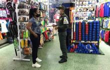 Realizan campaña para evitar hurtos al comercio de Cartagena