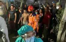 Fueron rescatados los 14 mineros atrapados en Barranco de Loba