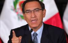 Fiscalía pide impedimento de salida del Perú para Martín Vizcarra