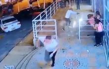 En video   Así atacaron a bala a una mujer en Los Rosales, Soledad