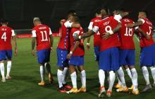 La Selección de Chile empató su último compromiso en casa 2-2 ante Colombia.