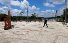 La Plaza de las Madres, en Tubará, es uno de los escenarios inventariados por la Gobernación.