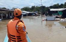 Una persona muerta y 28 mil afectadas dejan lluvias en Chocó
