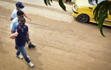 Pavimentación en Siete de Abril con Barrios a la Obra