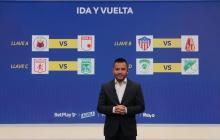 El sorteo se transmitió a través del Canal Win Sports.
