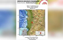 Sismo de magnitud 4.6 se sintió en gran parte de Colombia
