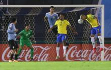 Richarlison marcó uno de los goles de la victoria de Brasil ante Uruguay.