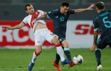 Lionel Messi fue uno de los jugadores más insistentes en el ataque de la albiceleste.