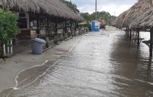 Cierran playas para el turismo en Córdoba ante aumento de lluvias