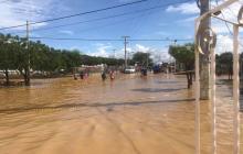 4.825 damnificados deja crudo invierno en Uribia