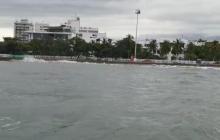 Alertan por nuevas y fuertes lluvias en Santa Marta