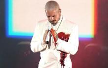 """""""Mi corazón se rompe y rezo por el mundo"""", J Balvin en los Latin Grammy 2020"""