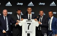 Cristiano llegó en el verano de 2018, a cambio de la cantidad récord para el fútbol italiano de 117 millones de euros.