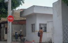 Fachada de la Registraduría Municipal de Galapa, en el Atlántico.