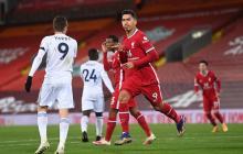 Liverpool goleó al Leicester y es segundo en la Premier League