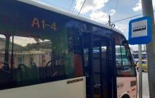 Transmetro reactiva recorrido habitual de la ruta A1-4 La Magdalena