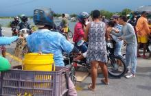 En Tasajera se volvieron a tomar la Troncal del Caribe como protesta