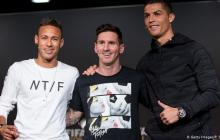 Cristiano, Messi y Neymar, entre nominados a The Best