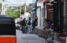 En video | Ataque a bala en Cruz de Mayo: dos heridos y dos capturados